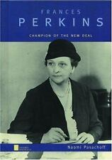 Frances Perkins: Champion of the New Deal (Oxford Portraits)-ExLibrary