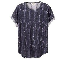 Women's Isabel Marant for HM Feather Print 100% Linen Shirt Top US Size 10