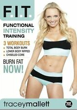 Cardio and Toning EXERCISE DVD Tracey Mallett Functional Intensity Training FIT