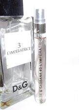 Dolce & Gabbana D&G # 3 L'Imperatrice 10ml Eau de Toilette SAMPLE EDT 0.33 oz