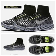 $200 Nike Lab Lunarepic Flyknit Shield Sz 14 Racer Running Air Max 95 OG Neon 17