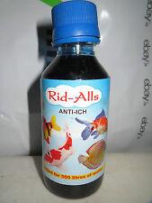 Water aquarium fish Rid alls Anti Ich 100 ML medicine ridalls rid-alls