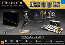 Deus Ex Mankind Divided Collector's Edition Xbox ONE *NEW*+Warranty!!