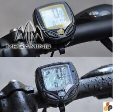 Bicycle Speedometer/ Odometer Digital LCD Meter - WIRED & WATERPROOF