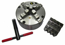 RDGTOOLS 160MM 4 JAW SELF CENTERING LATHE CHUCK FRONT MOUNTING ENGINEERING TOOLS