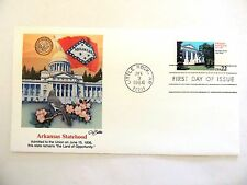 """January 3rd, 1986 """"Arkansas Statehood"""" First Day Cover"""