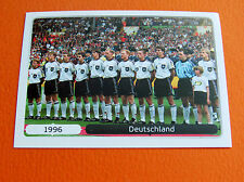 531 EQUIPE TEAM DEUTSCHLAND1996 FOOTBALL PANINI UEFA EURO 2012
