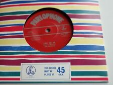 THE BEATLES  LOVE ME DO  45  UK  50TH ANNIVERSARY 2012  WITHDRAWNED  45 MINT