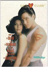 1995 SKYBOX LOIS & CLARK THE NEW ADVENTURES OF SUPERMAN #L&C7 CHIP FOIL INSERT