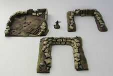 World War 2 Mandertory Miniatures resin 28mm Europe Emplacement set, Bolt Action