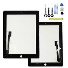 New Black fits  iPad iPad3 iPad4 Glass Digitizer Touch Screen Replacement