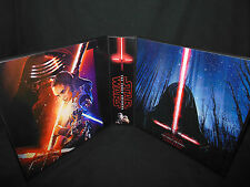 Custom Made Star Wars The Force Awakens 2 Inch Binder Graphics Only Option 3