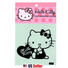 Hello Kitty Car Window DECO Decal Sticker (Car Accessory) : Heart
