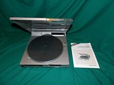 RADIO SHACK REALISTIC LINEAR TRACKING DIRECT DRIVE TURNTABLE RECORD PLAYER