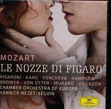 Mozart Le Nozze di Figaro box CD NEW Pisaroni Karg Europe Chamber Nezet-Seguin