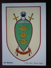 POSTCARD SIR BEDIBERE - KING ARTHURS KNIGHT BADGE