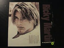 Ricky Martin MARIA REMIXES Euro Import 2-trk CD Single In Cardboard PS