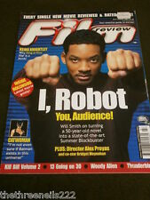 FILM REVIEW - WILL SMITH I ROBOT - AUG 2004