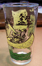 Davy Crockett Drinking Glass Vintage, circa1950s