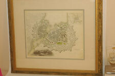 A Desirable 1841 map or plan of the city of Geneva, Switzerland S.D.U.K