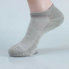 5 Pairs Summer Mens Ankle Socks Low Cut Crew Casual Sport Cotton Socks Quality