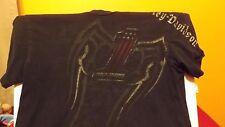 Harley Davidson vintage Western Reserve Mentor Ohio t shirt black size Medium