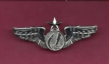 Full size three inch US Remote Senior Pilot Aircraft Drone Wings Badge USAF