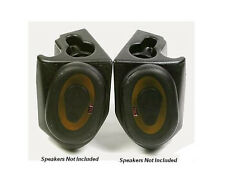 VDP Jeep Sound Wedges with/out Speakers 76-95 Jeep CJ / YJ / Wrangler (Black)