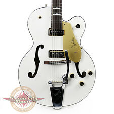 Gretsch G6120DE 1957 Limited Edition Duane Eddy Hollow Body Pearl White Demo