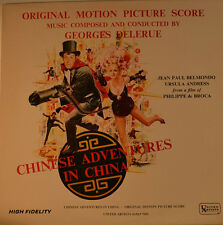 "OST - GEORGES DELERUE - CHINESE ADVENTURES IN CHINA  12"" LP BOX  (L298)"