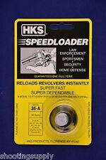 HKS 36/36-A Speed Loader 38/357 Mag S&W Taurus Ruger New in Package 36-A