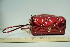 Women's Juicy Couture Purse Hand Bag RED HOT MINI Crossbody Square Tote