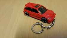 Diecast Honda Civic Red Toy Car Keyring Keychain