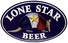 """LONE STAR BEER ARMADILLO METAL SIGN 36""""X24""""  NEW-FREE USA SHIPPING"""