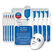 Korean N.M.F Clinic Skin Care Beauty Clinic Face Mask Pack 10 PICS[NMF Aquaring]