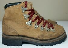 Vtg Herman Mountaineering Boots Women 7.5 Trail Hiking Work Sport Outdoor