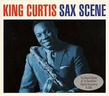 KING CURTIS - SAX SCENE - TWO ORIGINAL ALBUMS (NEW SEALED 2CD)
