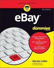 2016 eBay for Dummies Signed by Author Marsha Collier 9th Edition Book Paperback
