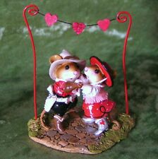 Wee Forest Folk M-312a  VALENTINES HOEDOWN LIMITED ED Retired 2007 - CONSIGNMENT