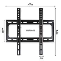 US Stock TV Wall Mount Swivel Bracket 15° TILT 26~55 inch LED LCD Flat Screen