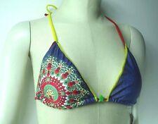 Desigual Damen Triangel Bikinioberteil Bedruckt - Lisa - Gr. XL -