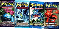 ① 4 BOOSTERS de CARTES POKEMON Neuf Aucun double en FRANCAIS (Lot N° AAI)