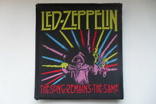 Led Zeppelin The song remains the same Sew On patch music