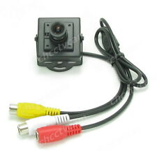 HD 700TVL Sony CCD Effio-E Mini Security Square Box Audio FPV A/V Camera Mic