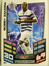 Match Attax 2012/13 Premier League - #197 Bobby Zamora - QPR