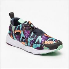 Reebok Running Trainers Fury Lite Graphic 3D Ultra Lite Black UK 7.5