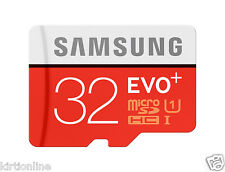 Samsung 32GB EVO PLUS Micro SD Card Class 10 Memory Card**