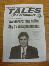 08/09/2000 Wycombe Wanderers v Oxford United - Fanzine, Tales Of The Chairboy Is