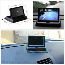 "4.3"" Foldable LCD Color Display Screen Car SUV Reverse Rearview Parking Monitor"