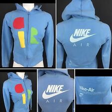 Vintage Women's Nike Air Full Zip Hoodie Jacket Small (51b)